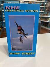 KHE Freestyle School Ramp Street BMX VHS Video Vintage Rare