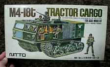 M4-I8t TRACTOR CARGO 1/35 MODEL KIT NITTO JAPAN