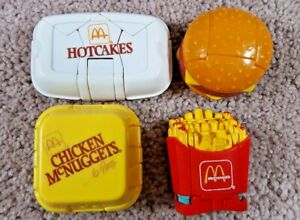 McDonald Changeables Happy Meal Hotcakes Chicken McNuggets Hamburger Fries A