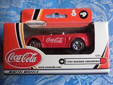 Matchbox 1999 Mustang Convertibe MB#9 - Coca Cola