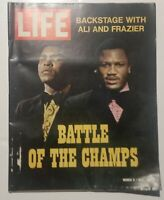 Muhammad Ali / Joe Frazier covered Life Magazine (1971)