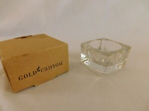 Gold Canyon Glass TEALIGHT HOLDER Brand NEW 1 of 4 available