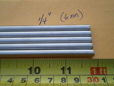 """1 PCS. STAINLESS STEEL ROUND ROD 302, 1/4"""" (.250"""") (6.33MM.) X 12"""" LONG"""