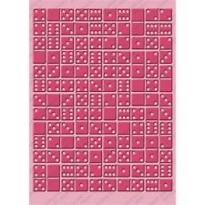 Cuttlebug 5x7 Embossing folder - Dominos - 2000206