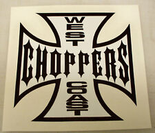 WEST COAST CHOPPERS PRINTED DECAL STICKER