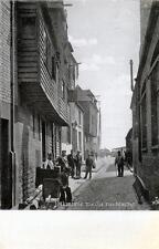 Folkestone old Fish Market sepia old postcard used 1905 Tuck Silverette 1570