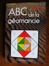 A.-M. Cacciaguerra ABC de la Géomancie Editions Grancher Arts Divinatoires 1989