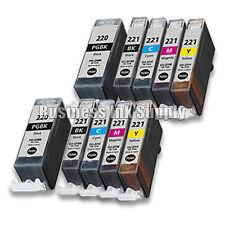 10pk Canon PGI-220 CLI-221 Ink Cartridge PGI220 CLI221 2PGI