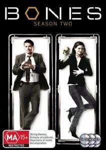 Bones Season 2 (DVD, 2008, 6-Disc Set) COMPLETE SERIES TWO SECOND