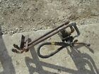 Massey Ferguson TO35 tractor external hydraulic valve control assemly w/ outlets