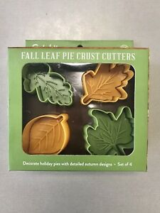 Sur La Table Fall Leaf Pie Crust Cookie Cutters