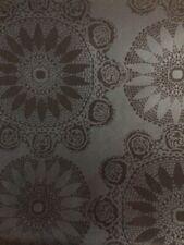 Black Wallpaper Disc Geometric Pattern Modern Glazed TU27123 Double Rolls