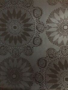 Black Wallpaper Disc Geometric Pattern Modern Glazed TU27123 Double Rolls