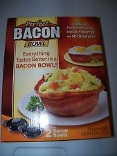 NEW PERFECT BACON BOWL---- AS SEEN ON TV
