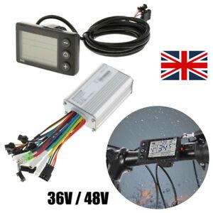 Brushless Motor Controller E-Bike LCD Display Panel Control Unit Speedometer