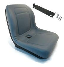 Grey HIGH BACK SEAT w/ Pivot Rod Bracket for John Deere GT242 GT245 GT262 GT275