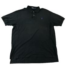Ralph Lauren mens Polo Shirt Rugby Dress Black Purple size XXL