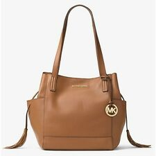 Michael Kors Ashbury Large Pebble Leather Shoulder Bag (Acorn) a7e32ba003488