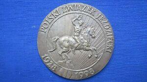Medal : Polski Zwiazek Jezdziecki 1928-1998 - 70 Lat PZJ