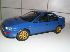 SUBARU IMPREZA WRX in UK Livery 1995,   Full Metall in  1 : 18 scale