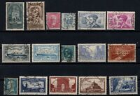 PP135339/ FRANCE STAMPS – YEARS 1923 - 1936 USED SEMI MODERN LOT – CV 151 $