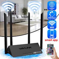 Wavlink 2.4GHz Wireless Router WPS WIFI Range Extender APP Access Point 521R2P