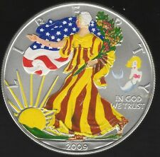 More details for 2009 u.s.a. coloured silver dollar | world coins | pennies2pounds