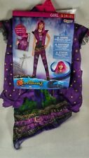 *NWT* Disney Descendants 2 MAL Costume Girls Childs Size Small S 4-6 by Disguise