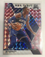 2019-20 Panini Mosaic RJ Barrett RC NBA Debut Pink Camo Prizm New York Knicks