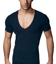 Figurbetonte Herren-T-Shirts aus Baumwollmischung mit Unifarben ohne Mehrstückpackung