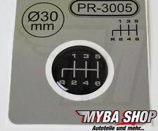 1x Schalthebel Silikon Aufkleber für Schaltknauf 3D Sticker | ∅=30mm | PR-3005