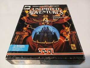 Advanced Dungeons & Dragons Unlimited Adventures Fantasy Construction Kit - PC