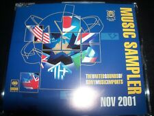 Nov 2001 Sony Promo Shakira Bill Laswell Steve Vai Paul Weller Joe Satriani CD –