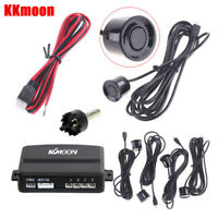 KKmoon Car Parking Sensors Reverse Backup Radar System Sound Alert Reversing Kit