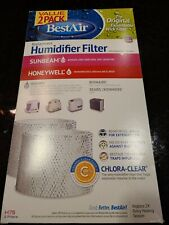 Best Air 2 Pack Replacement Humidifier Filters
