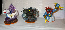 Skylanders Prism Break, Lightning Rod, & Flashwing Action Figures Lot 3 Ps NT