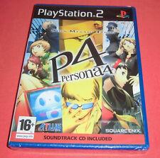 Playstation PS2 Shin Megami Tensei Persona 4 P4 [PAL UK] New Sealed Blister *JRF