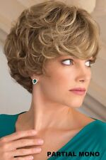 Lulu PM by Noriko Wigs (partial monotop) You Choose Color New Soft Waves