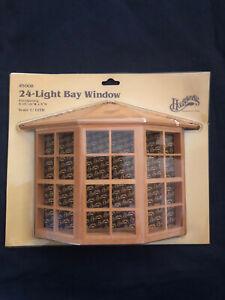 Houseworks 24-Light Bay Window Dollhouse Miniature  #5008 1/12th  Scale