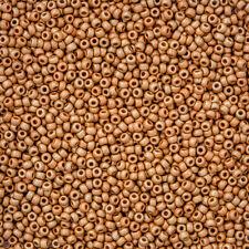 Miyuki 11 Seed Beads 11-4203F Duracoat Galvanized Matte Yellow Gold 24g (N20/1)