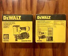 DEWALT Coil Roofing Nailer Nail Gun Collated Fastener Collation Depth DW45RN