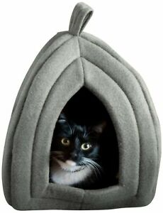 PETMAKER Igloo Pet Bed Collection - Soft Indoor Enclosed Covered Tent/Hou... New