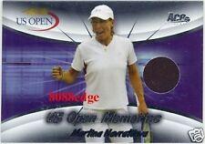 2008 ACE GRAND SLAM US OPEN MEMORIES #7: MARTINA NAVRATILOVA/49 JERSEY SWATCH