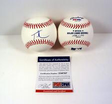 Tim McGraw Country & Guitar Legend Signed Autograph MLB Baseball PSA/DNA COA