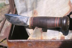 VINTAGE MARBLE's Woodcraft GLADSTONE KNIFE Wood Craft Made in USA