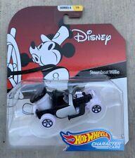 New! Hot Wheels Disney Steamboat Willie Series 6 1/6 By Mattel
