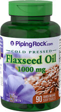 FLAXSEED OIL - 1000mg - 90 Quick Release Softgels