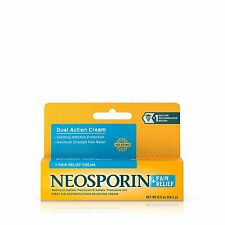 Neosporin + Pain Relief Dual Action Cream 0.5 Oz First Aid Antibiotic Cream