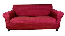 Elastic Slip Sofa Cover 1 2 3 seater TIFFY (RED)