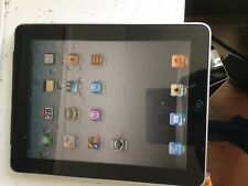 Apple iPad 1st Generation, A1219, 64gb, Wi-Fi, 9.7in - Black